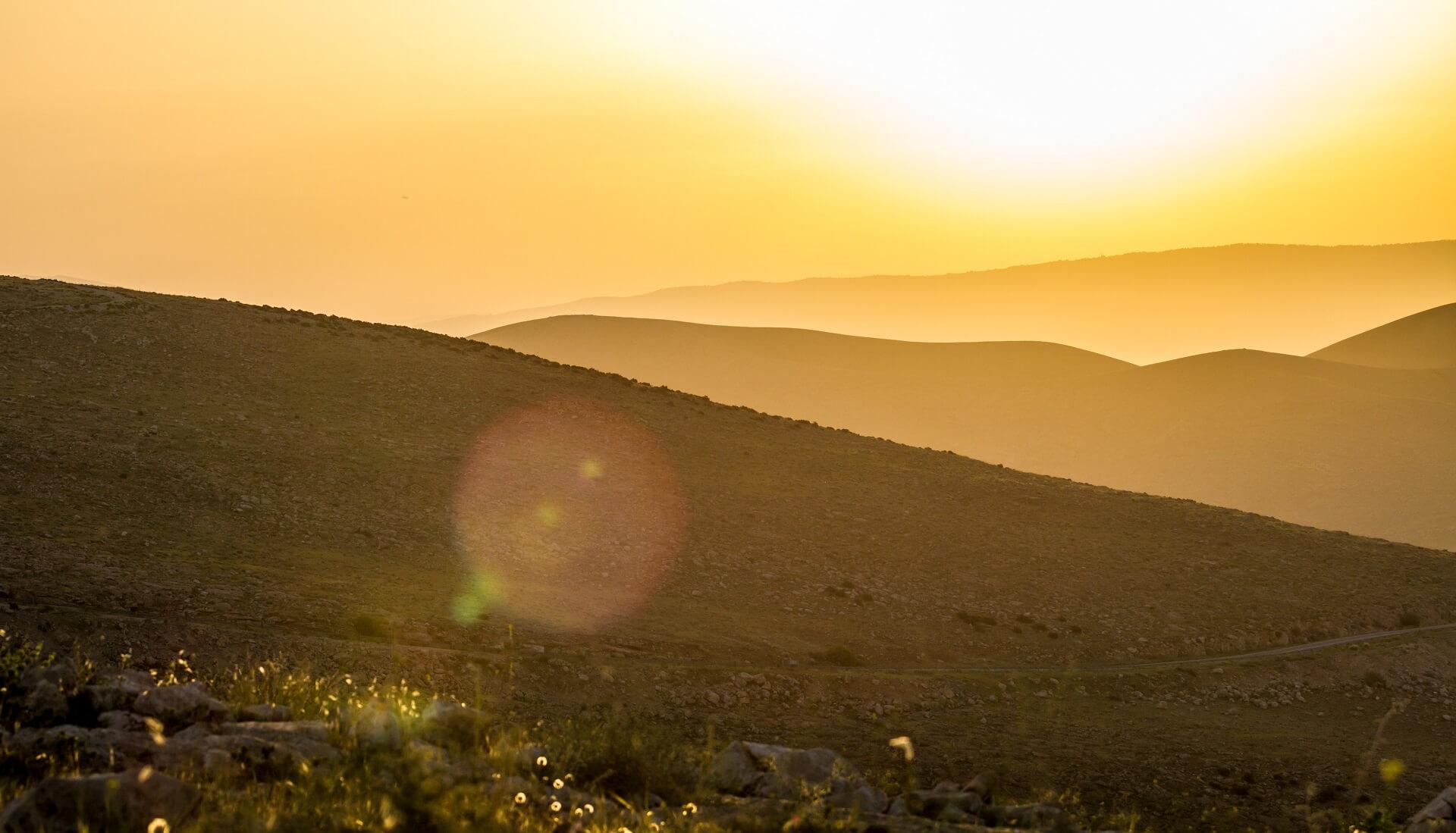Hills of Samaria Israel